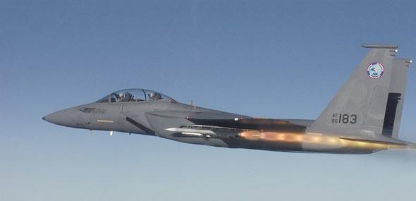 Gambar 06. Foto Pesawat Tempur F-15 Silent Eagle