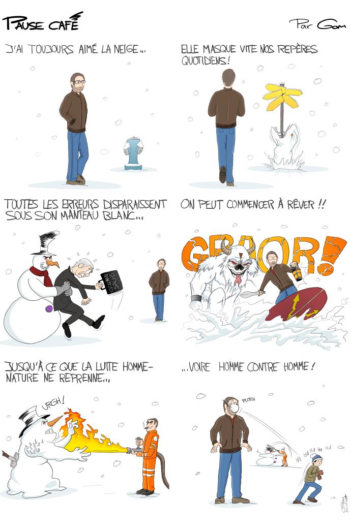 Pause café 2 : l'hiver et la neige