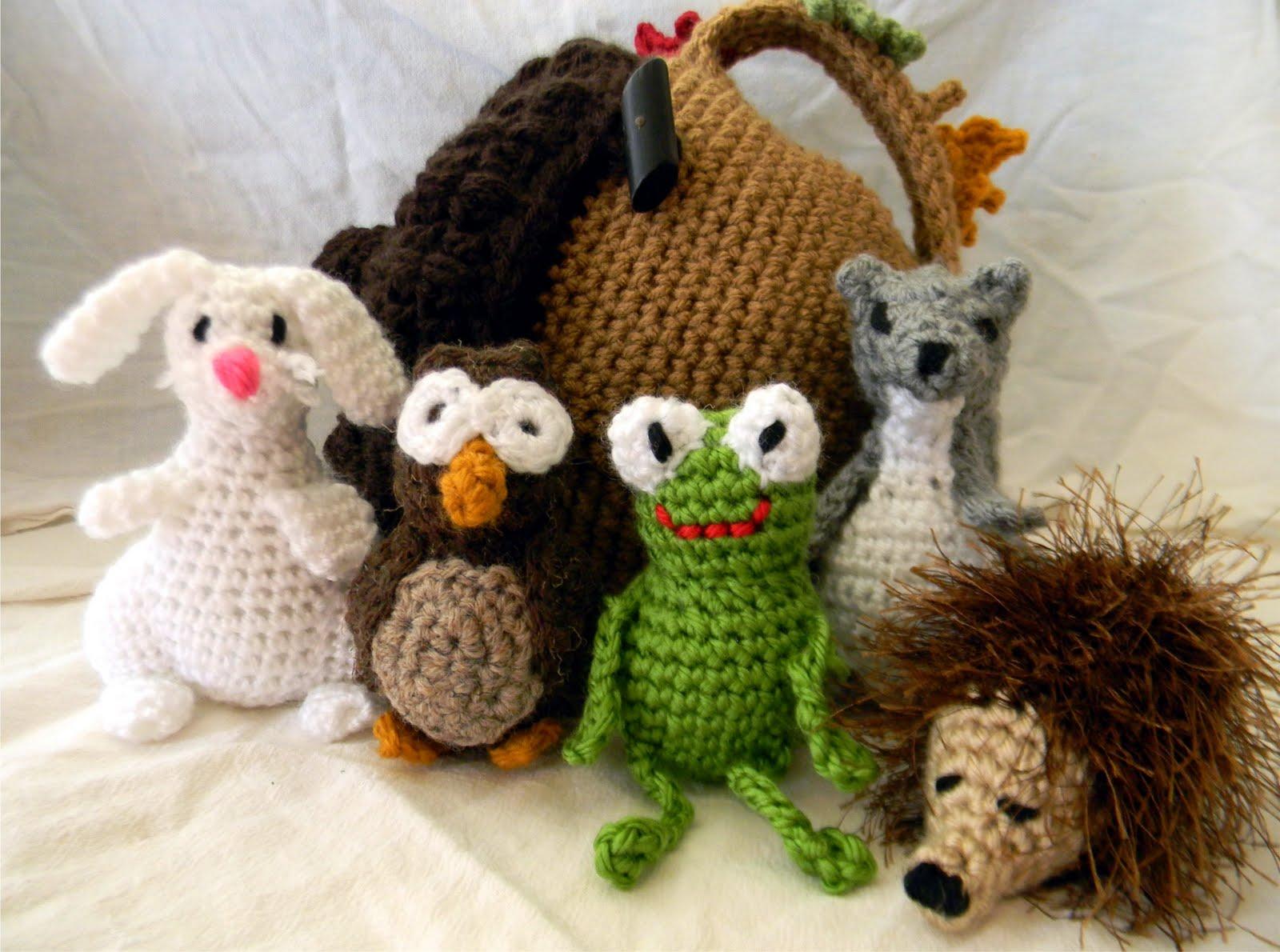 Forest Friends Amigurumi Free Crochet Patterns | Crochet patterns ... | 1190x1600
