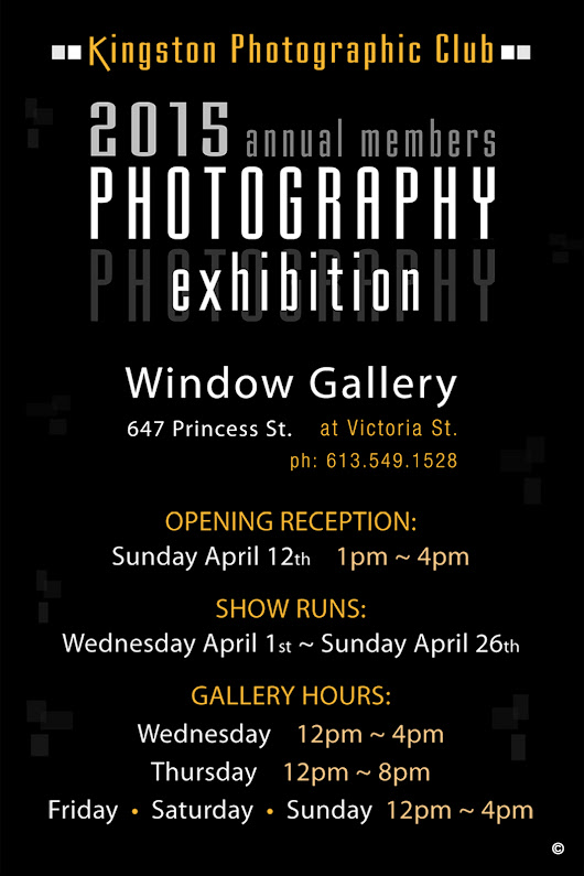 Every Angle Photographers Association Blog: Kingston Photographic Club Annual Exhibition