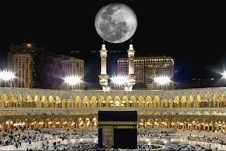 ظهور ظاهرة فلكية غريبة في سماء مكة في السعودية
