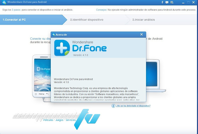 Wondershare Dr.Fone Android Español Versión 4.1.0.71