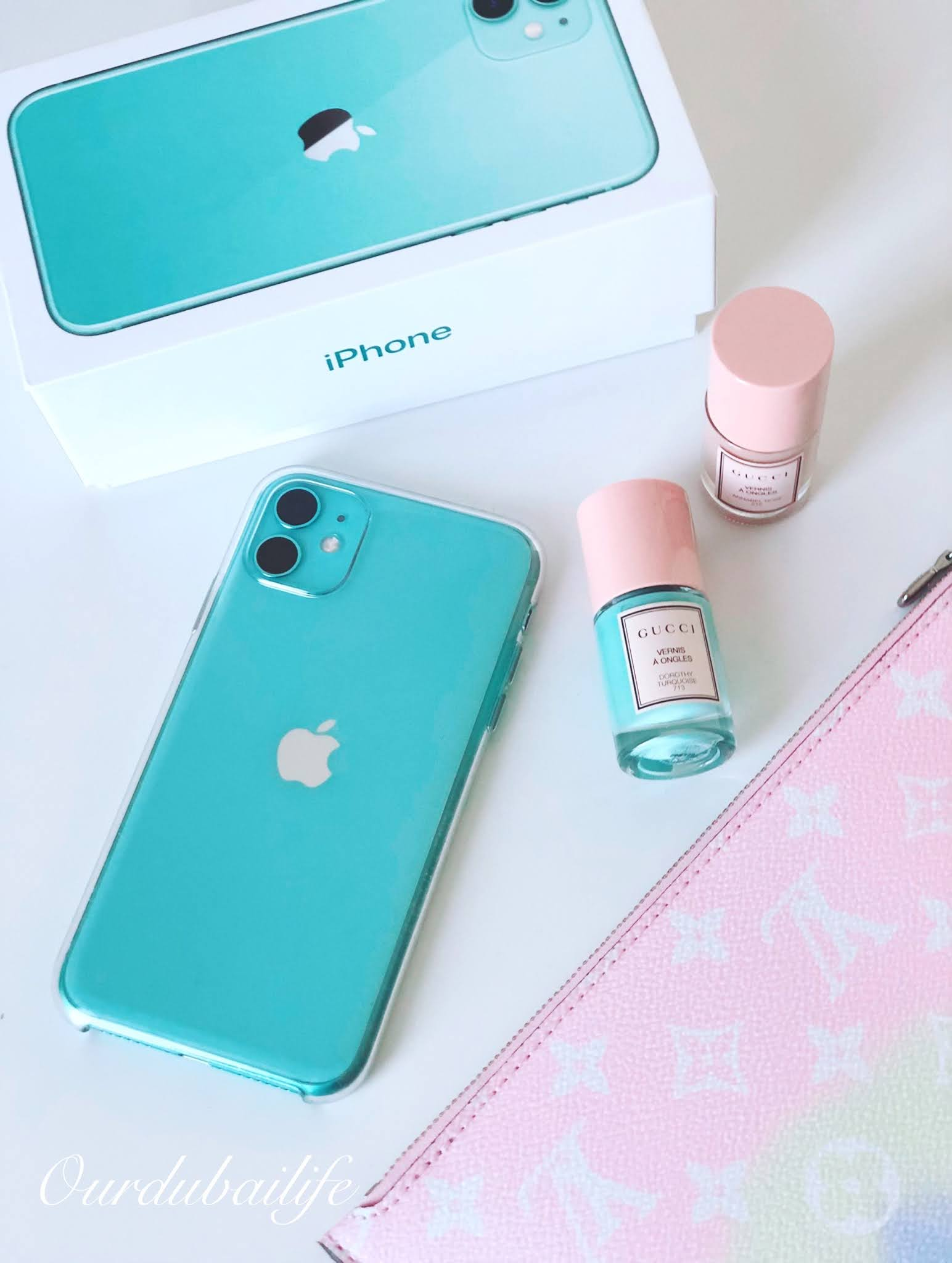 Mint Candy Green Iphone 11