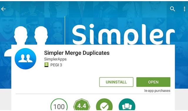 Cara Mudah Menghapus Kontak Duplikat di Android 4