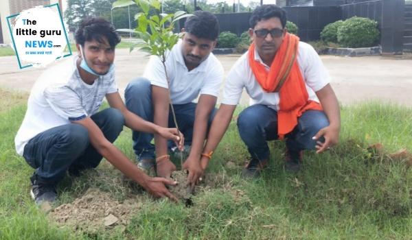 वन महोत्सव को लेकर किया वृक्षारोपण