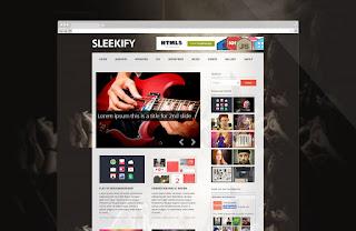 Sleekify Responsive Blogger Template