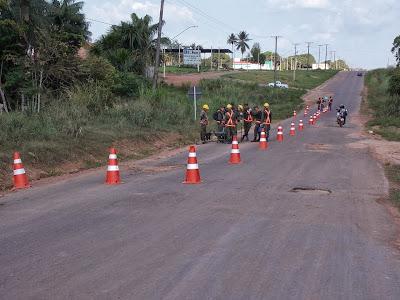 Resultado de imagem para fotos do trecho urbano da transamazônica, Itaituba