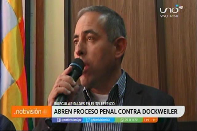 Abren proceso penal contra César Dockweiler y otros dos exejecutivos de Mi Teleférico