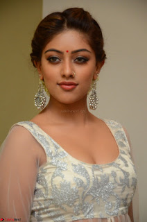 Anu Emmanuel in a Transparent White Choli Cream Ghagra Stunning Pics 111.JPG