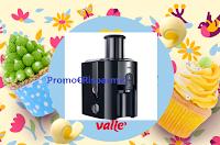Logo Vallè ''Cuore di mamma'': vinci gratis 1 centrifuga IdentityCollection J 500 Braun.