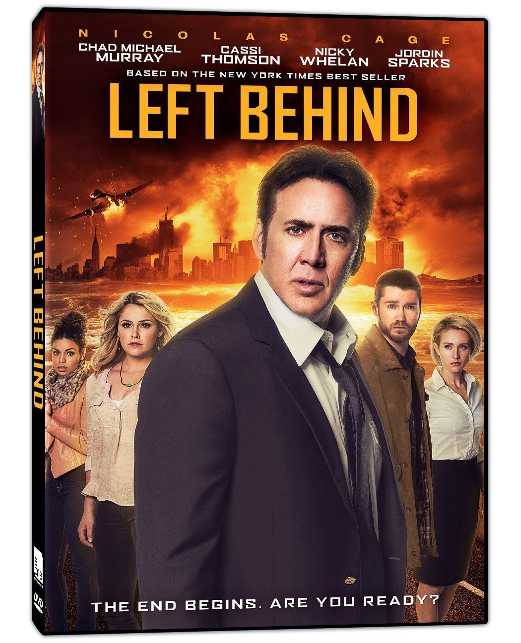Coperta filmului Left Behind, 2014, preluata de pe amazon.com