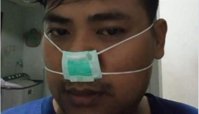 Beli Masker Bedah Murah Rp 30 Ribu Per Boks, Ternyata Mirip Teh Celup