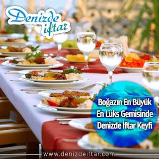 denizde iftar istanbul