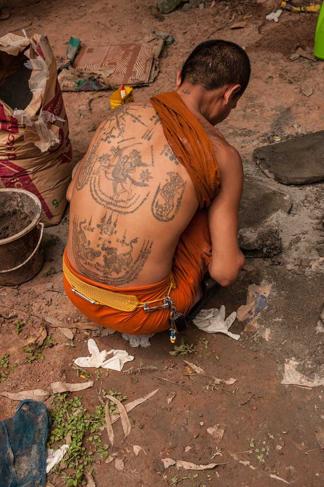 Allen\'s World: Magical Tattoo - Sak Yant In Thasang Village