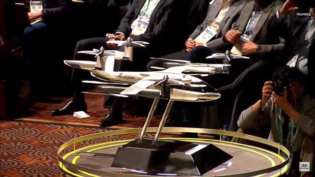 هيونداي تخطط لاطلاق سيارة طاكسي طائرة بحلول عام 2023