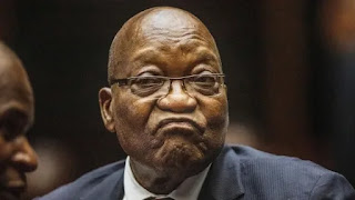 Former South African President Jacob Zuma jailed for 15 months for contempt