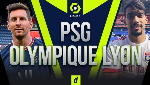 PSG vs. Lyon EN VIVO ONLINE, con Messi titular por la Ligue 1 de Francia
