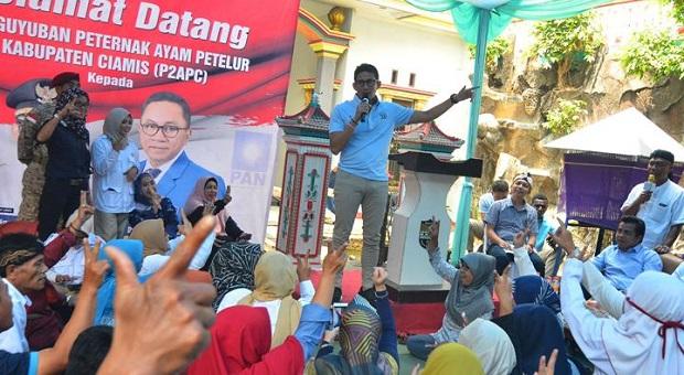 Jika Gagal di Pilpres 2019, Sandiaga Ingin Program Oke Oce Lancar