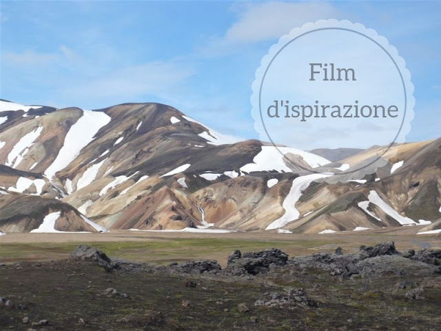 film che ha ispirato viaggio in Islanda: veduta del Landamannalaugar