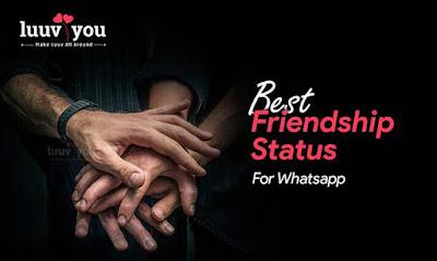 Best Status For Friendship, whatsapp status images, dosti status