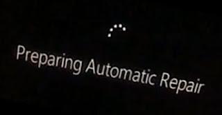 Memperbaiki Preparing Automati Repair Windowd 8