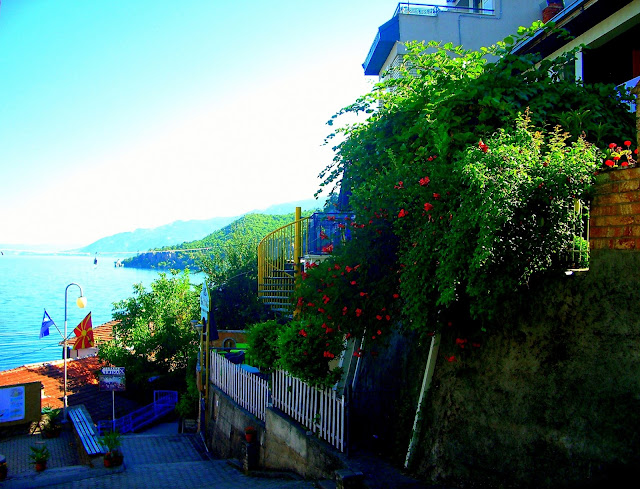Trpejca, Macedonia, Ohrid Lake, Tania on Travel