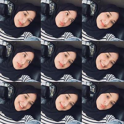 Annisa Aulia Yasmin Pakai Hijab Hitam