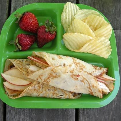 Apple & Chicken Crepes