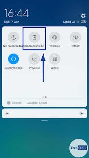 Xiaomi MIUI 10 Oszczędzanie Energii Skrót