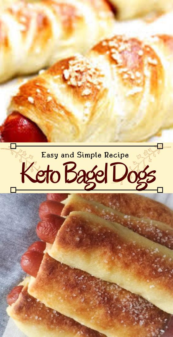 Keto Bagel Dogs #healthyfood #dietketo #breakfast #food