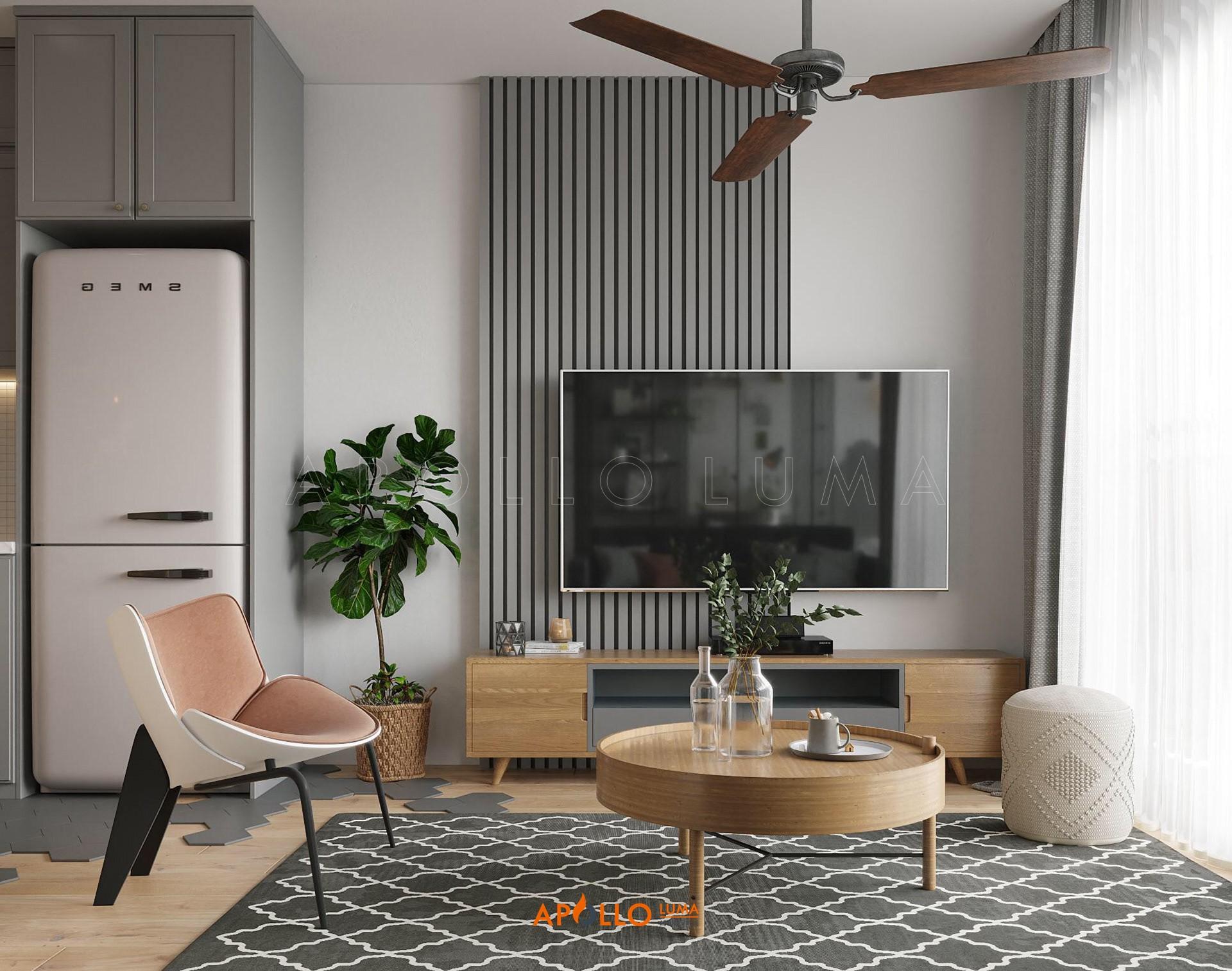 Thiết kế nội thất căn hộ Vinhomes Grand Park Quận 9