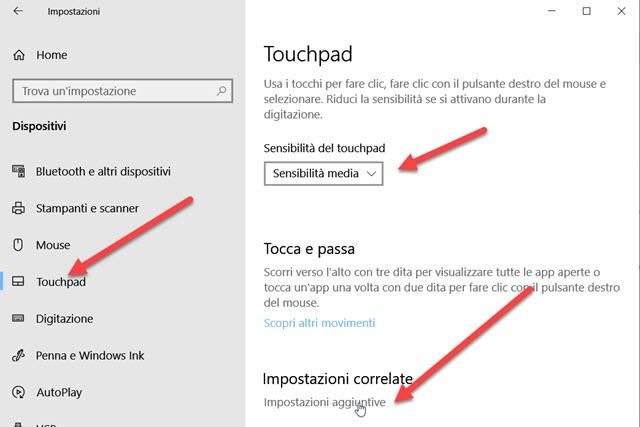 impostazioni-touchpad