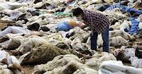 Reconocimiento de cadáveres tras el tsunami de 2004