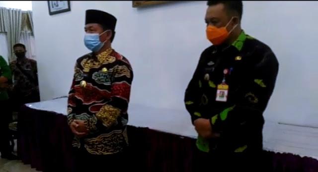 Dua warga Lampung Utara yang terkonfirmasi positif virus Corona