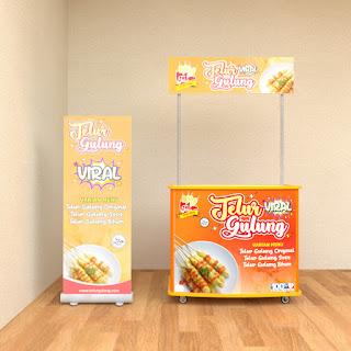 Booth Telur Gulung