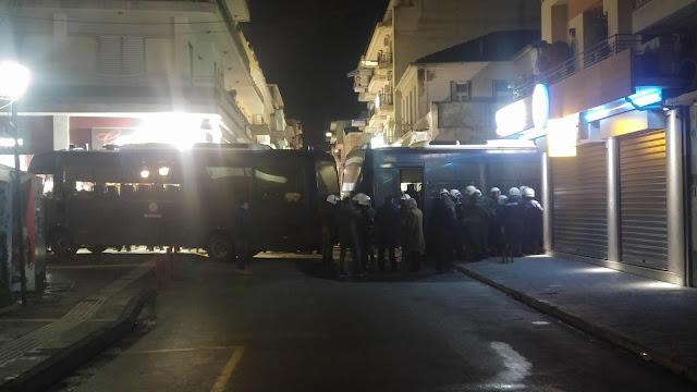 Λαϊκή Ενότητα:Βία και χημικά ενάντια στους διαδηλωτές στην Τρίπολη