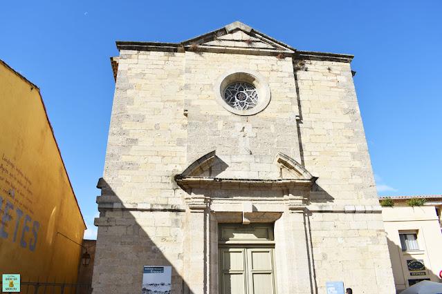Capilla de los Penitentes Azules, Narbona