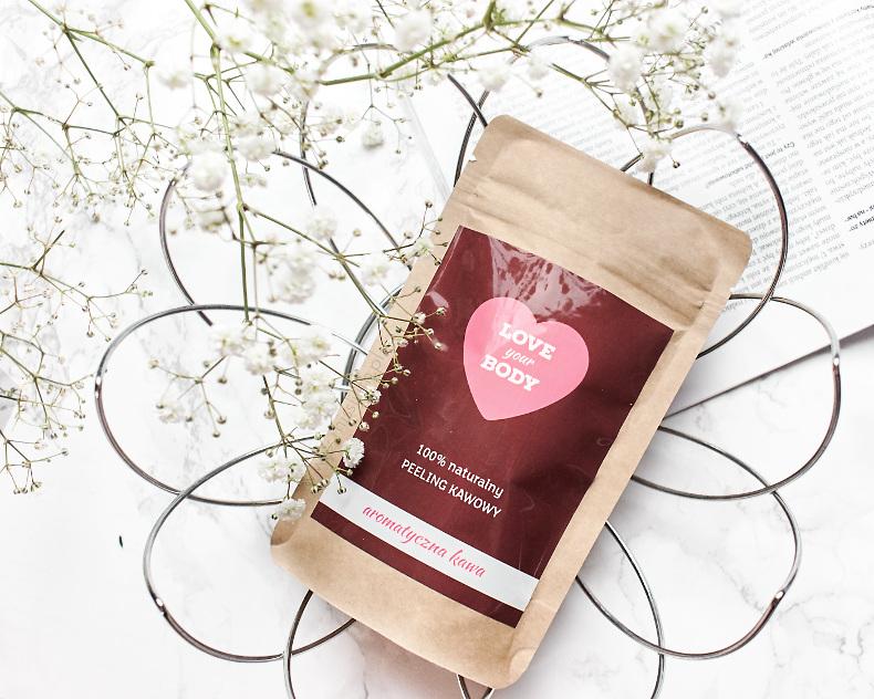 Love your body peeling kawowy soczysta truskawka słodki kokos aromatyczna kawa blog opinie