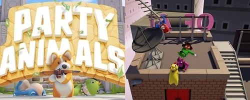 Differences of Party Animals vs Gang Beasts
