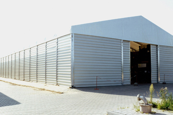 cerramientos laterales pvc naves carpas zaragoza