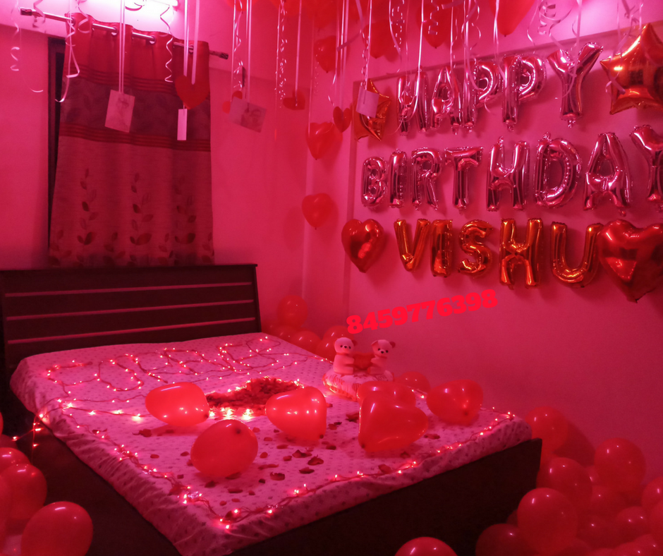 Romantic Anniversary Surprises For Him Simple Birthday Decoration Ideas