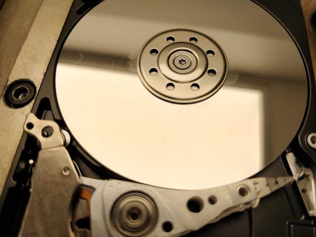 επιμολυσμένος ανοιγμένος δίσκος