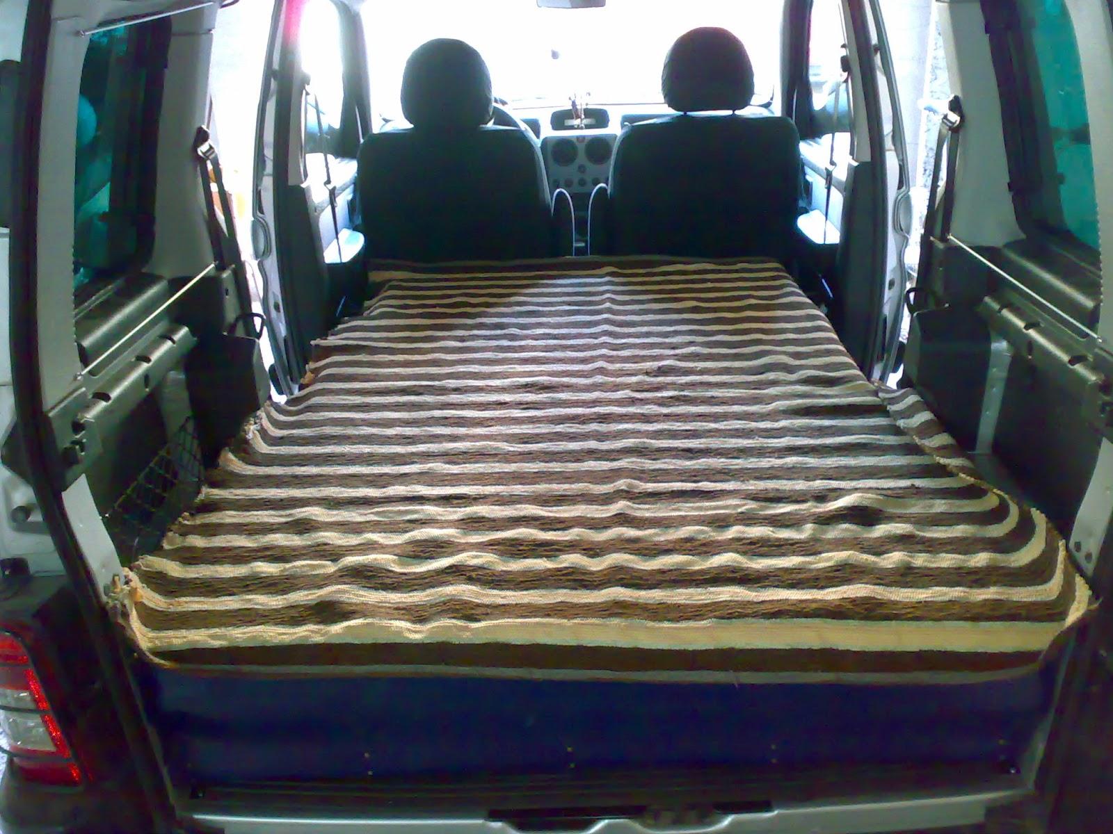 capivans Preparacion cama Peugeot Partner
