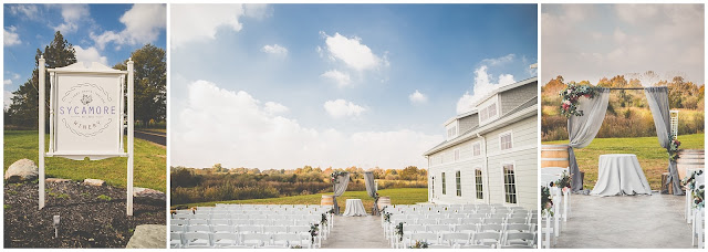 Wedding at The Sycamore Winery in West Terre Haute