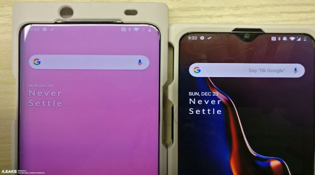 OnePlus 7 Leak: slider selfie camera and see what's special