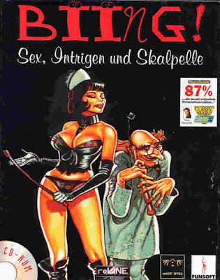 Portada videojuego Biing! Sex, Intrigue and Scalpels