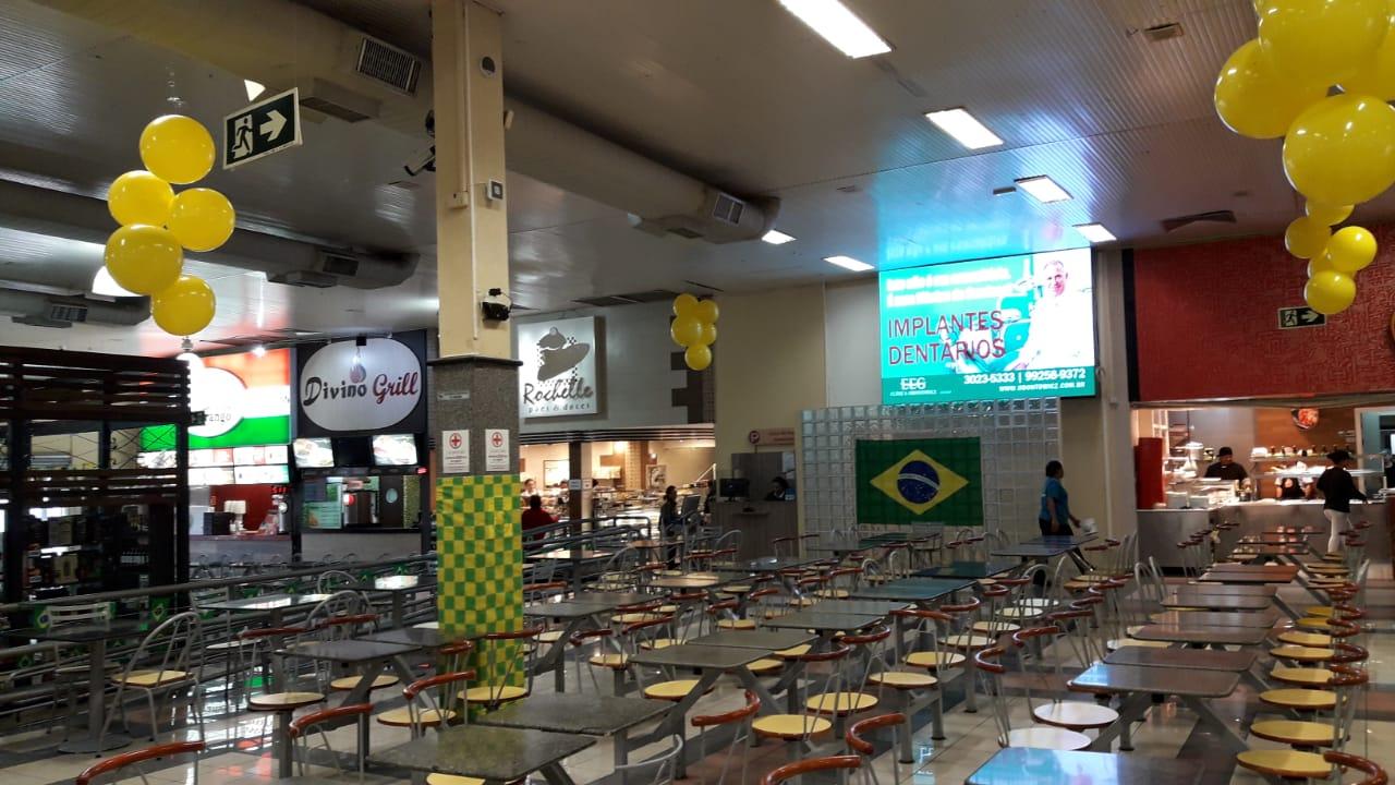 Além dos jogos, para completar a torcida, as lojas da praça de alimentação  do Pollo terão menus especiais, com combos e preços promocionais, ... c89ff4d315