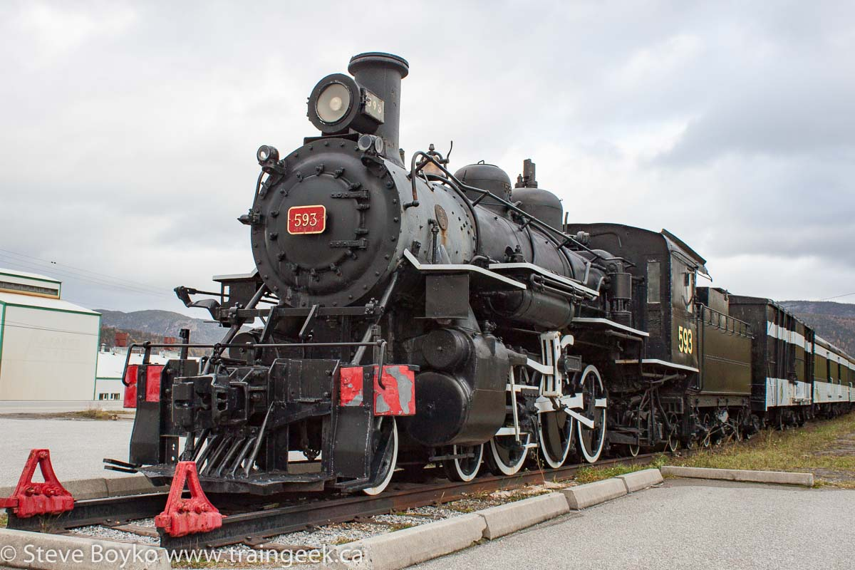 Confessions of a Train Geek: The Corner Brook Railway Museum