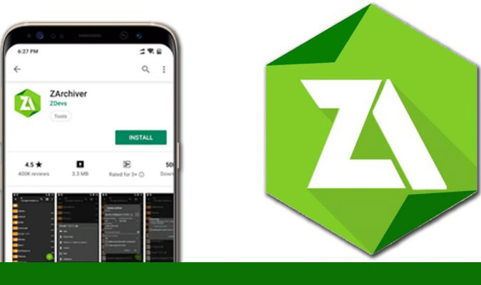 Aplikasi Extractor Terbaik tuk Smartphone Android - ZArchiver