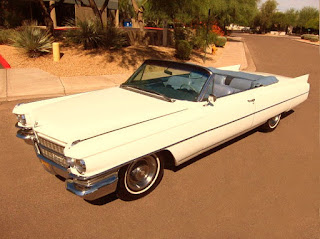 1963 Cadillac DeVille Convertible Series